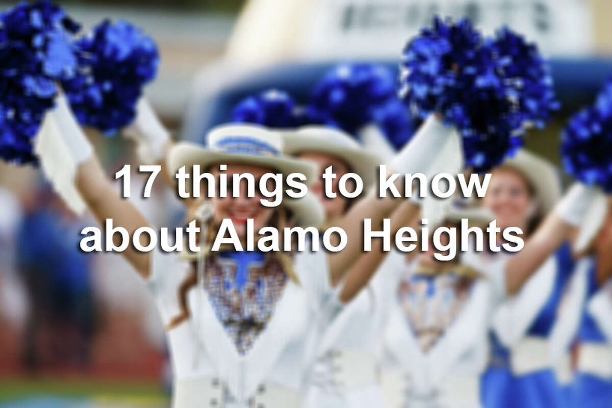Here are 17 things to know about Alamo Heights.