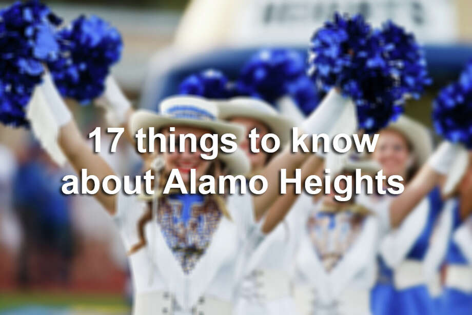 Here are 17 things to know about Alamo Heights. Photo: MARVIN PFEIFFER, File / Express-News 2011