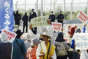 Okinawa governor revokes permission for construction of U.S. base - Photo