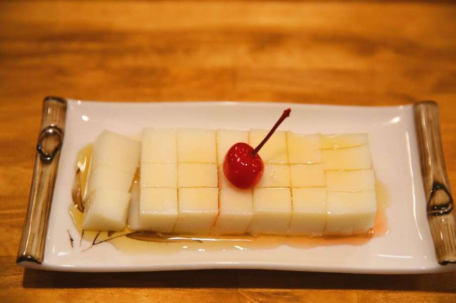 Organic milk pudding as served at Cooking Girl. Photo: Yelp