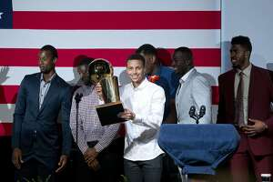 Warriors' Curry, Green on President Obama, Clippers' statements - Photo