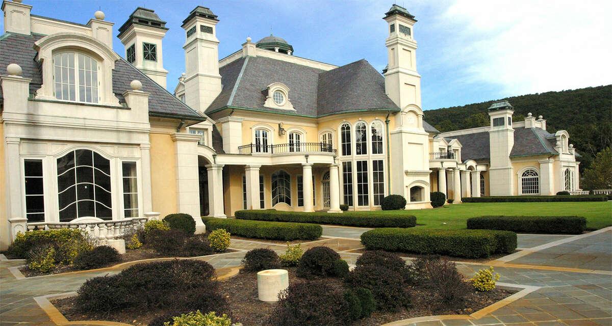 The home's impressive exterior.