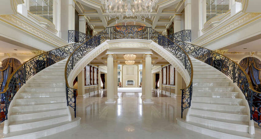 The grand foyer.