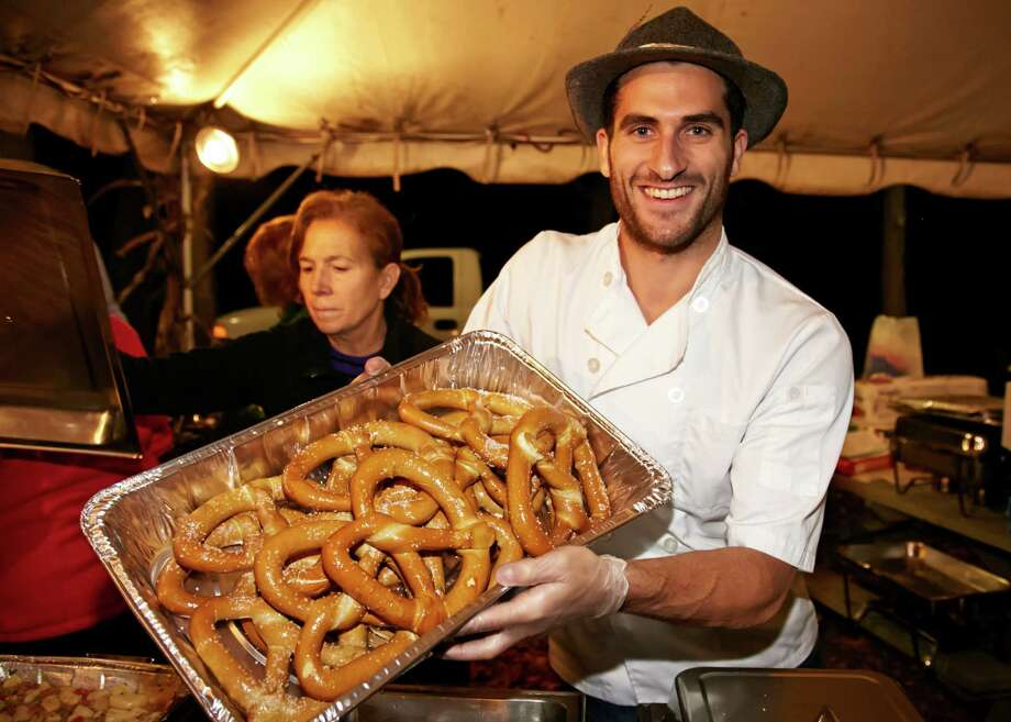 Seasonal brews and authentic German cuisine were served at the Stamford Museum and Nature Center's Oktoberfest 2014. This year's festival will take place Friday, Oct. 16. Photo: Contributed Photo / Contributed Photo / Stamford Advocate Contributed photo