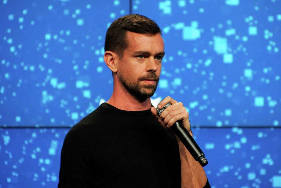 "A New York rapper claims that Jack Dorsey, Twitter co-founder and Square founder, sent her several of his hairs for an ""amulet for protection."" Photo: BRYAN THOMAS, STR / NYTNS"