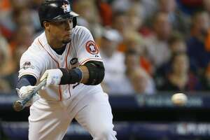 Astros OF Carlos Gomez optimistic about Game 5 health status - Photo