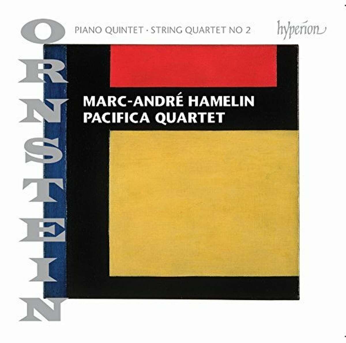 CD cover: Ornstein, Piano Quintet & String Quartet No. 2
