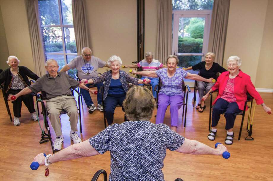 At University Place, residents can choose from a variety of fitness programs tailored to their needs. Photo: James Klein