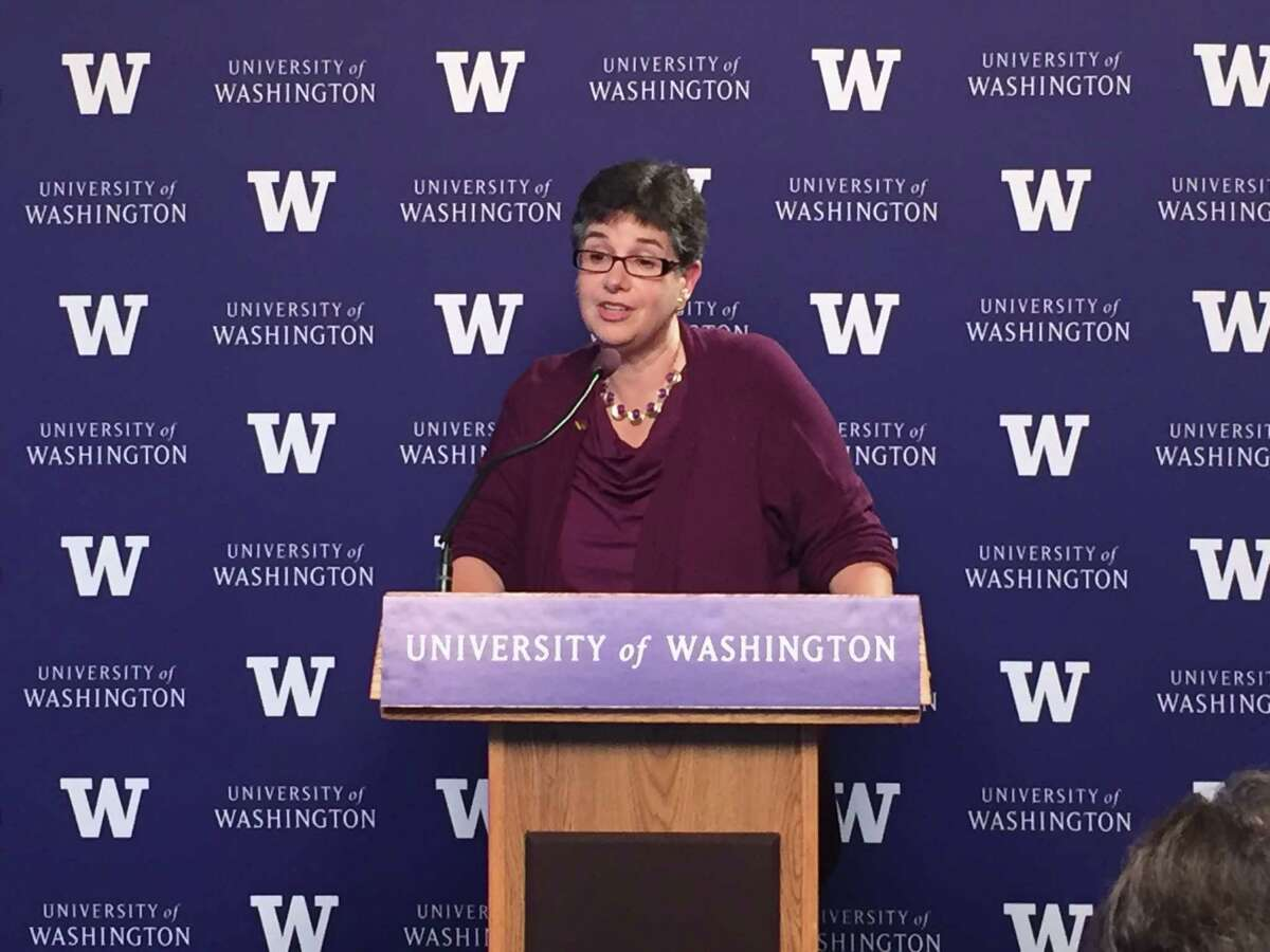 Ana Mari Cauce, University of Washington president: Suspending classes, putting classes on-line was a bold move, since copied across the country.l