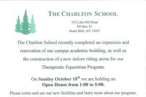 Charlton School plans Oct. 18 open house - Photo