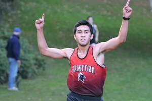 Barrios of Stamford takes first in cross country meet - Photo