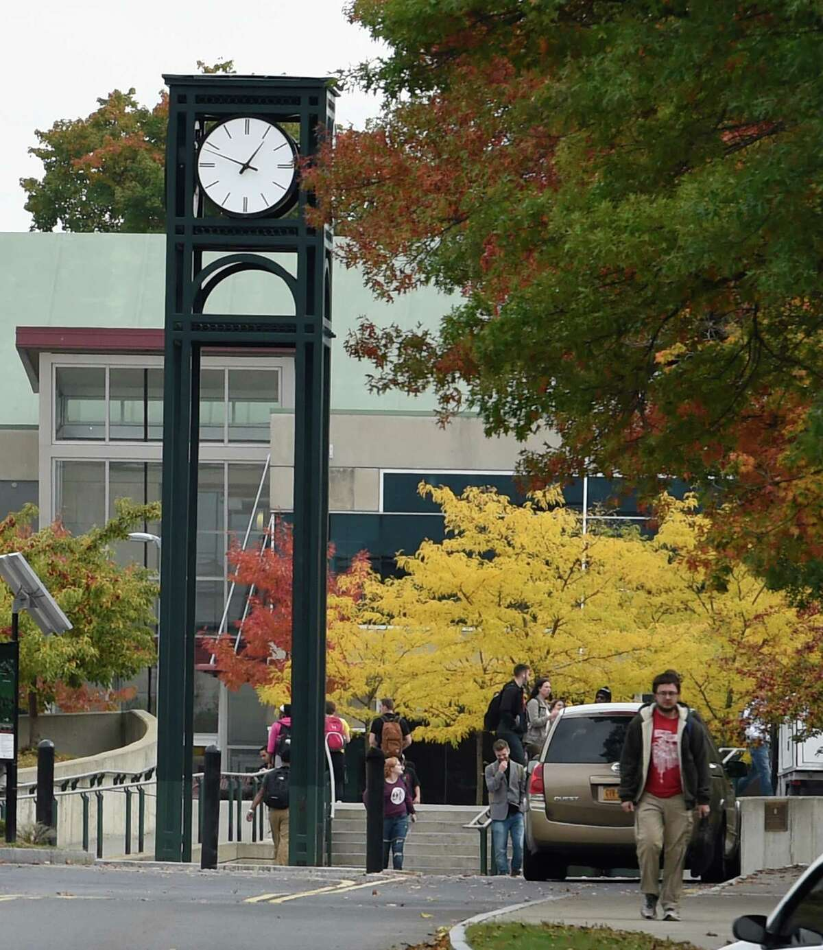Hudson Valley Community College Tuesday afternoon Oct. 13, 2015 in Troy, N.Y. (Skip Dickstein/Times Union)