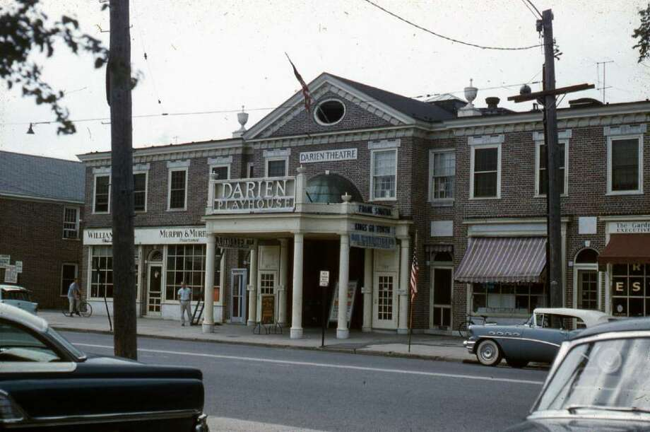 A Frank Sinatra movie in the heart of Darien, 1958. Photo: Contributed Photo / Darien News