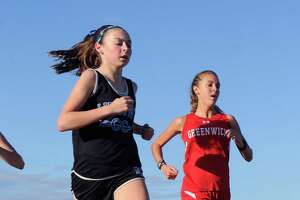 Greenwich girls cross country team finishes regular season in style - Photo