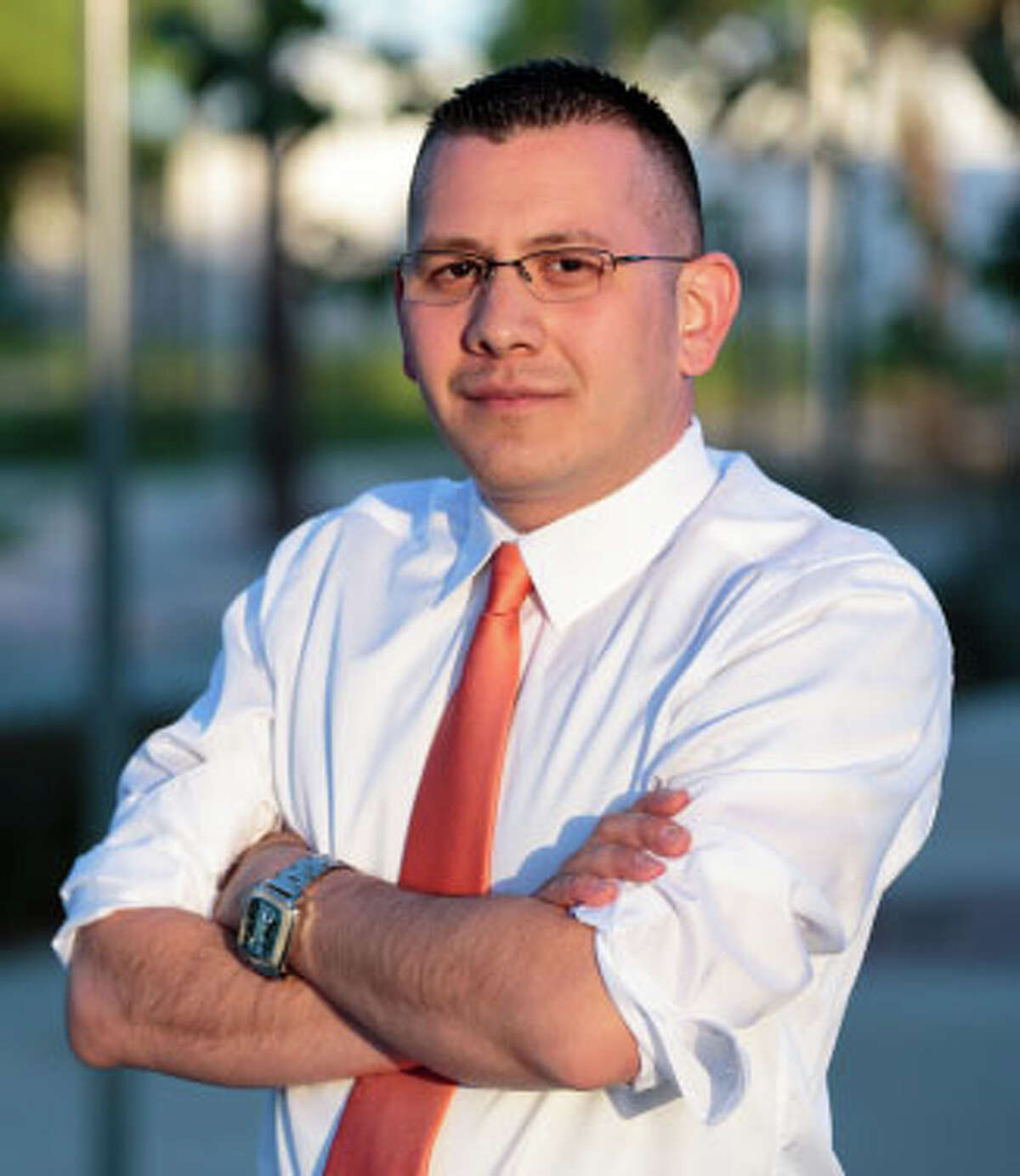 Jason Cisneroz, one of several candidates running for District H.