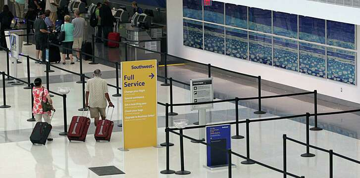 The new International Concourse at Hobby Airport will see Southwest Airlines' first daily international flights this week.