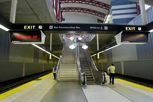 San Bruno BART station closed after person hit, killed by train - Photo