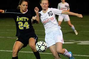 Amity edges Shelton in girls soccer - Photo
