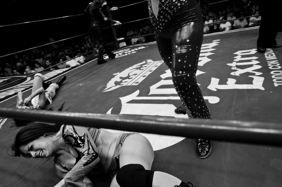 Inside the world of women lucha libre wrestlers in Bolivia