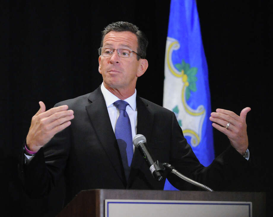 Pocketbook issues have put Gov. Dannel P. Malloy's job approval numbers in the tank, according to a Quinnipiac University poll released Wednesday, Oct. 14, 2015. Only 32 percent approved of Malloy's job performance- his lowest ranking ever. Only disgraced former Gov. John Rowland has the lowest numbers. Photo: Bob Luckey Jr. / Hearst Connecticut Media / Greenwich Time