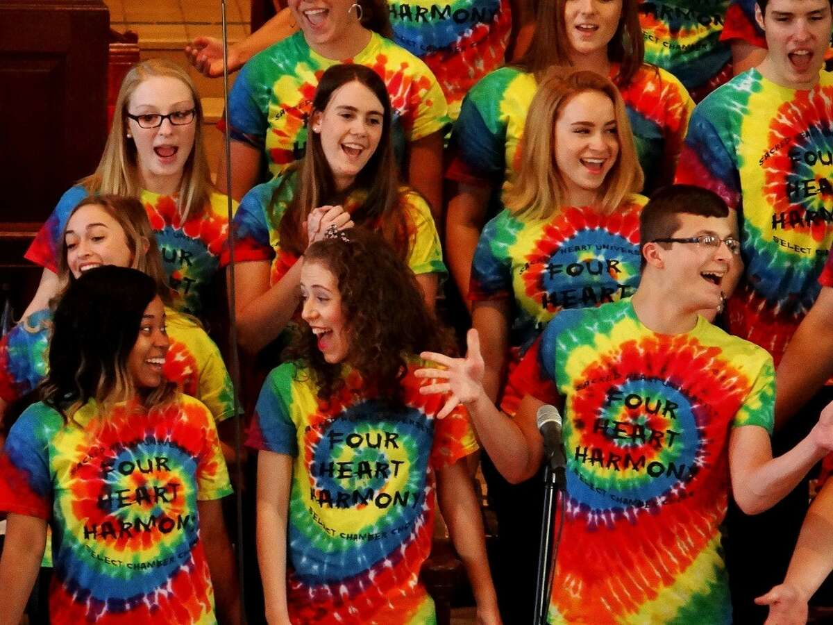 Youngsters and adults are encouraged to wear costumes to the Pipescreams concert, Sunday, Oct. 18, at 4 p.m. in Bridgeport. More than 200 singers will be featured.