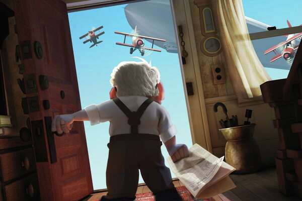 "In this image released by Disney/Pixar Films, animated character Carl Fredricksen is shown in a scene from the film, ""Up."" The film was nominated Tuesday, Feb. 2, 2010 for an Oscar for best animated feature. The 82nd Academy Awards will be presented on March 7. (AP Photo/Disney/Pixar) ** NO SALES **"
