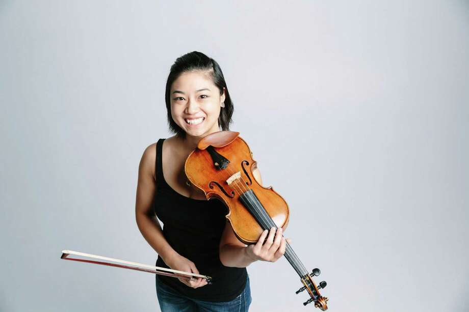 Violinist Natalie Lin created the new 16-piece conductorless chamber orchestra Kinetic in Houston. Photo: --