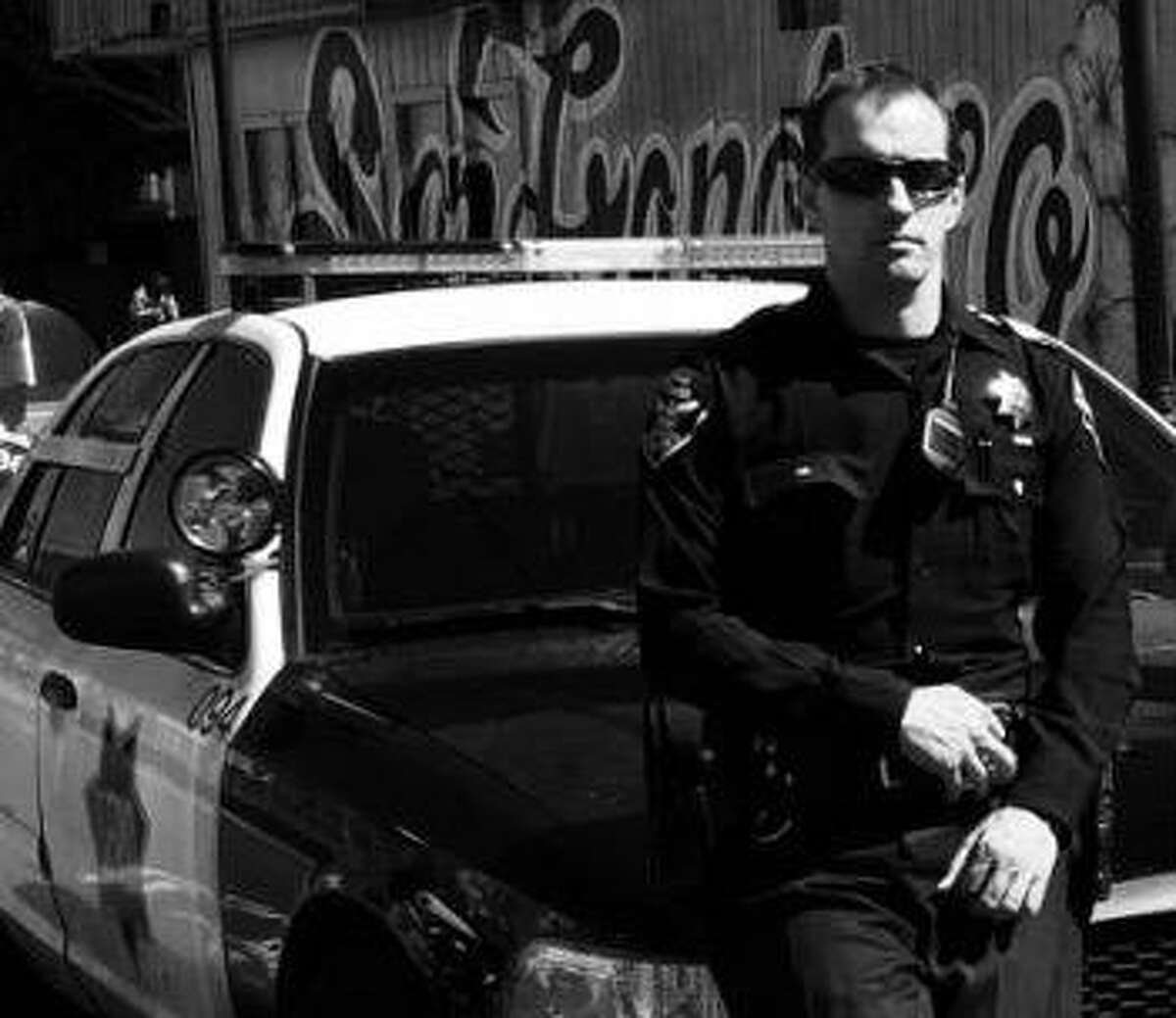 Officer Roger Morse patrols the Bayview District for SFPD. (Photo credit: Roger Morse)