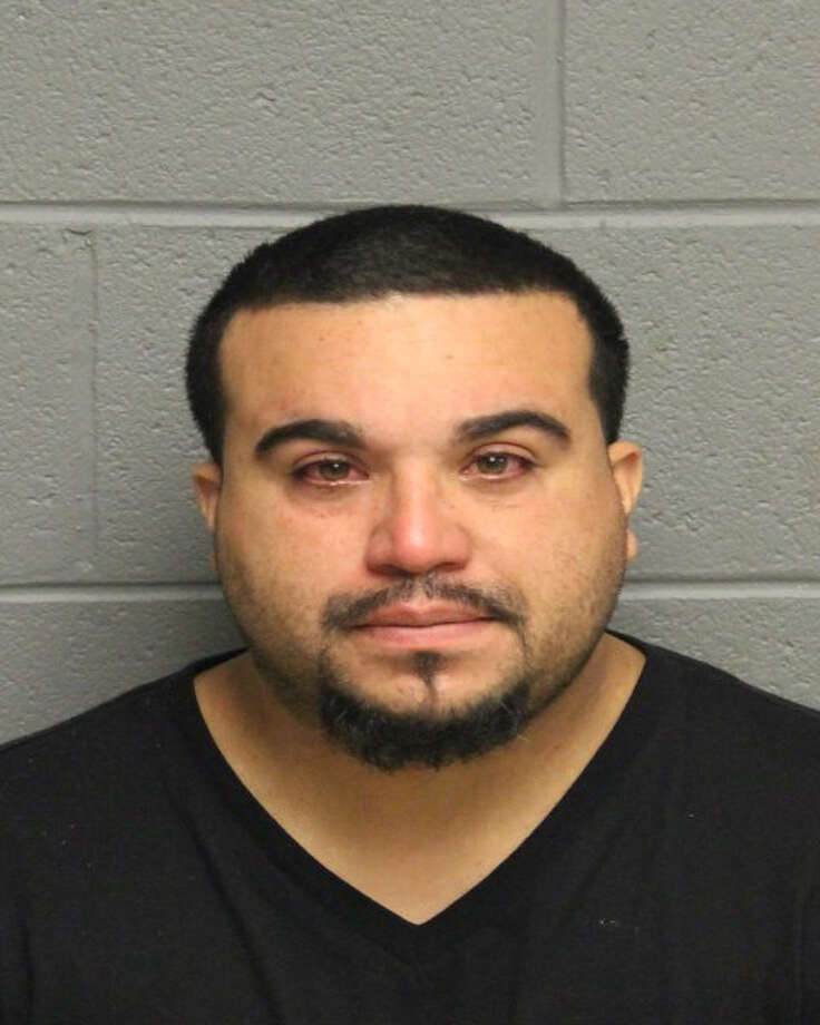 Josue Gonzalez, 37, of Black Rock Avenue in Bridgeport was charged with possession of narcotics, possession of narcotics with the intent to sell, possession of narcotics within 1,500 Feet of a school/day care facility. Police said Gonzalez had $40,000 in cocaine shipped to his place of employment in Monroe. Police said he accepted delivery of the package and was then taken into custody. Photo: Monroe Police Department