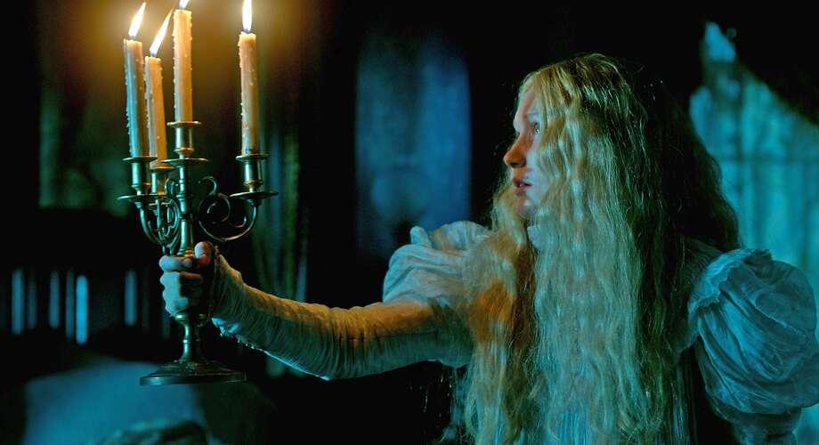 "Mia Wasikowska plays Edith Cushing in ""Crimson Peak."" Photo: Associated Press"