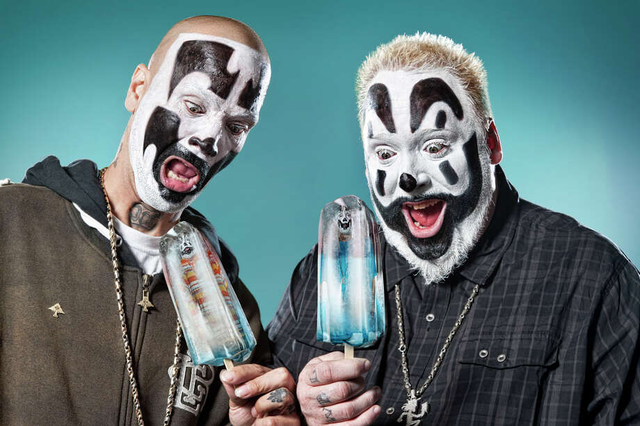 Insane Clown Posse will take the stage in Laredo for their first time ever on October 17.  Photo: Press Photo