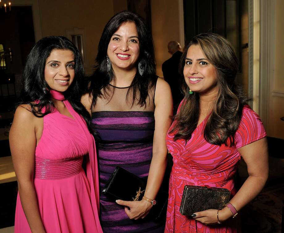 From left: Farida Abjani, Geeta Amand and Ruchi Mukherjee Photo: Dave Rossman, For The Chronicle / Freelalnce