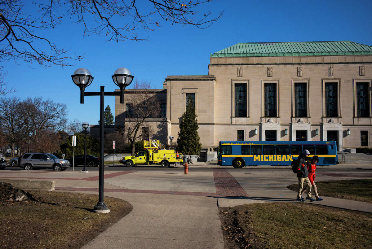 Click ahead to view famous alumni from the University of Michigan.