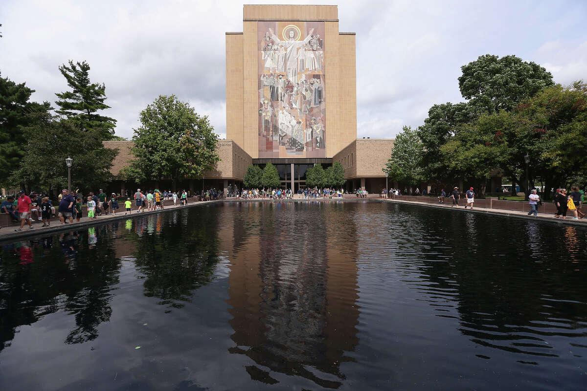 No. 9 Notre Dame Amount raised: $30,461,237