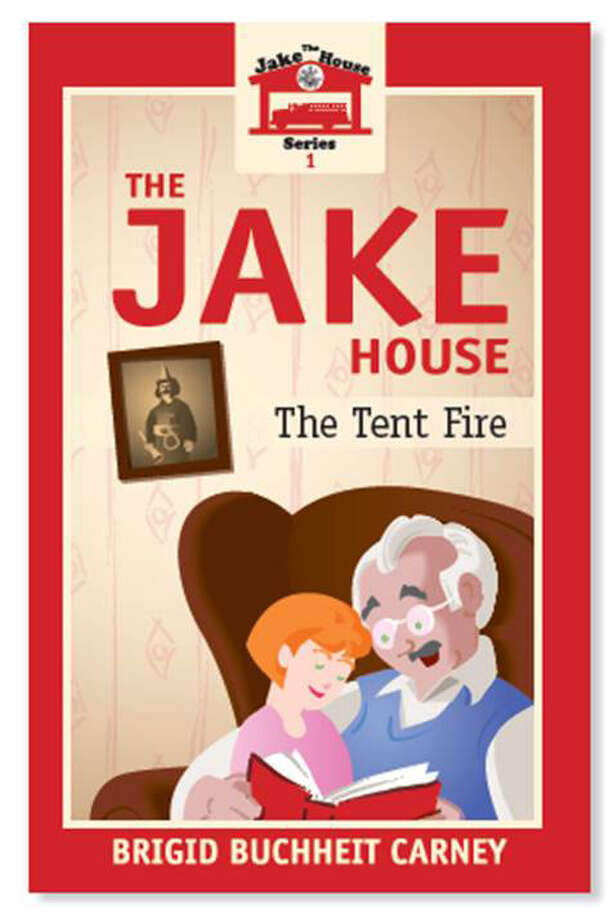 "Bridgewater resident Brigid Buchheit Carney has released her first book in a children's series, ""The Jake House."" The series follows Irish immigrant Sean O'Sullivan's flashbacks as he tells his granddaughter Jackie about life in New Haven's fire department at the turn of the century. Photo: Courtesy Of Brigid Carney / The News-Times Contributed"