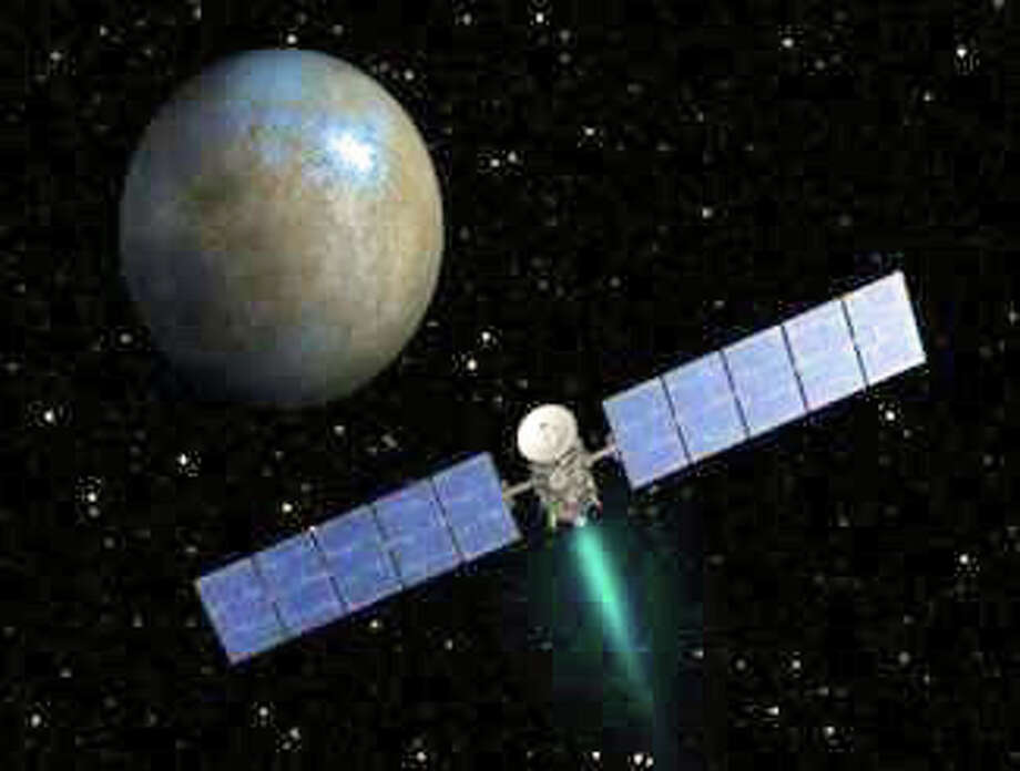 Andy Poniros, NASA/JPL Solar System Ambassador, will discuss NASA's Dawn Mission launched in 2007 to first orbit asteroid Vesta and now dwarf planet Ceres. He will be speaking about the mission at 3:30 p.m. Oct. 18 at the Bruce Museum, 1 Museum Drive.  Lectures open to the public. Admission free to Bruce Museum members; others by donation.       Sunday, October 18, 2015, 3:30 PM  The Bruce Museum, 1 Museum Drive, Greenwich, CT.      Lectures open to the public.    Admission free to Bruce Museum members; others by donation. Photo: Contributed / Contributed Photo / Greenwich Time Contributed