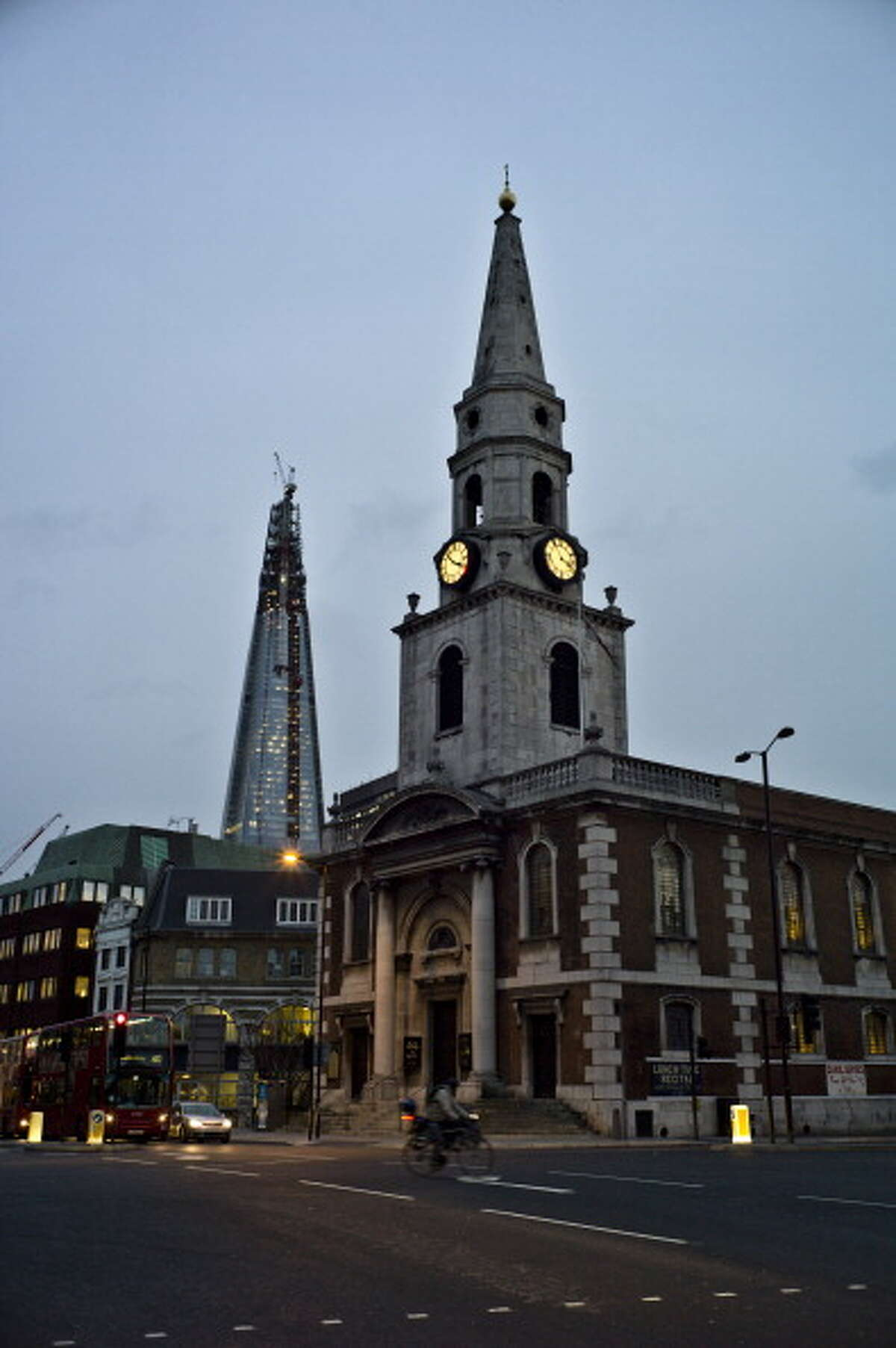 The bell at St. George the Martyr church (pictured) in south London rang for 24 hours earlier this week, driving locals crazy.