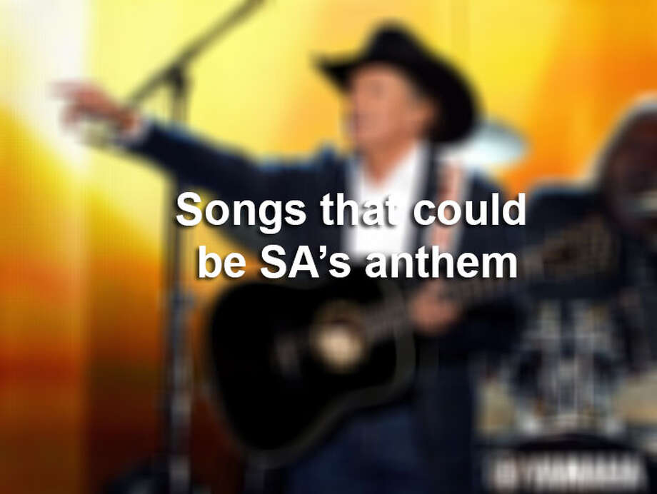 Click through the gallery to see all the songs that could be San Antonio's anthem.
