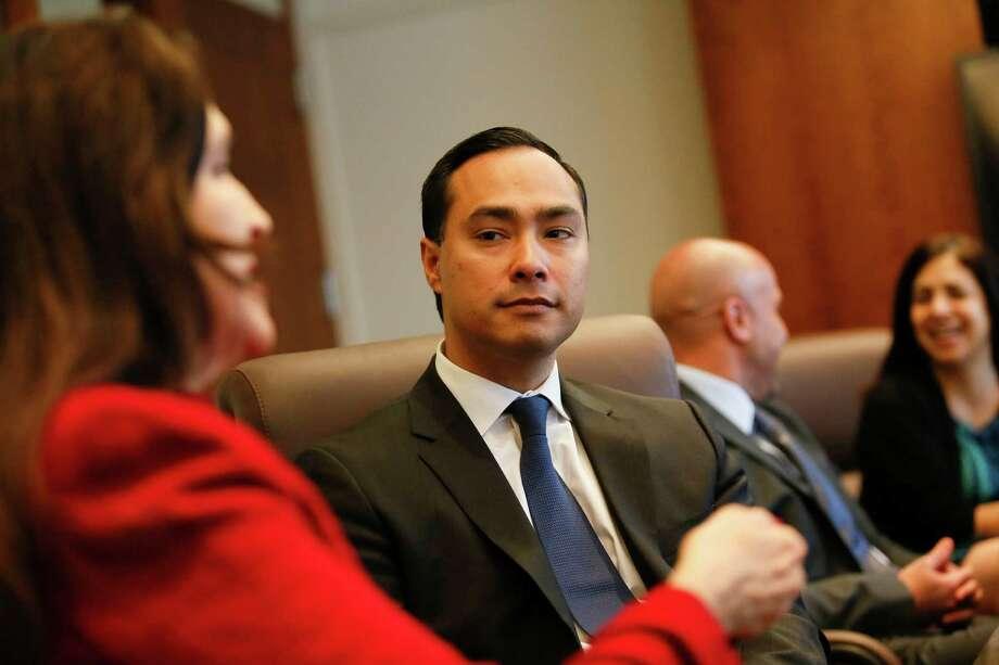 U.S. Rep. Joaquin Castro Photo: Patrick T. Fallon /For The Express-News / © 2015 Patrick T. Fallon