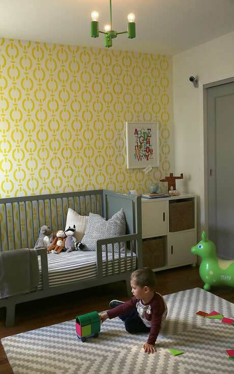 Owen, 3, plays in his room at home in San Francisco. Photo: Liz Hafalia, The Chronicle