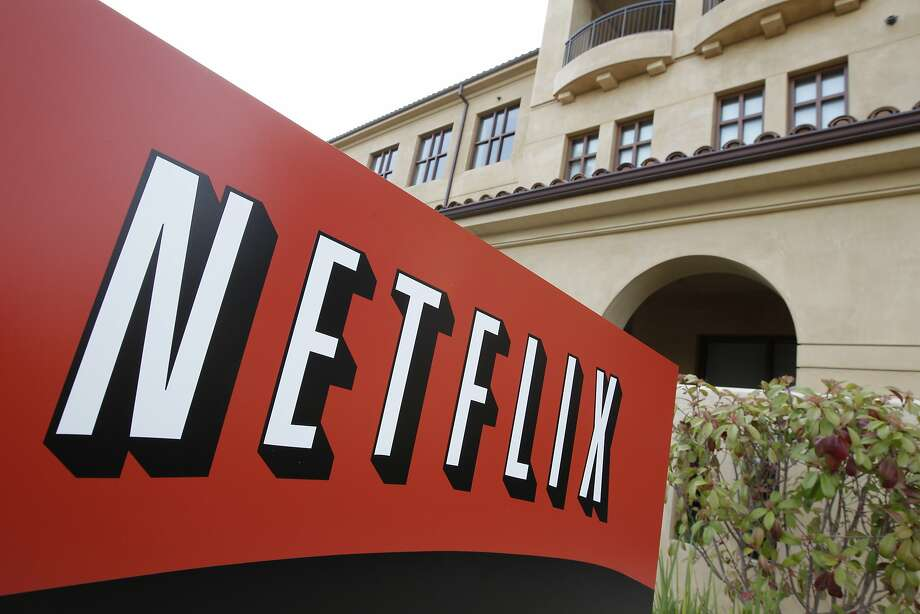 "Netflix HQ in Los Gatos has been tagged. Scroll down to see the photos. For some good ""Netflix and chill"" options, check out what's new on the streaming service this month by clicking through. Photo: Paul Sakuma, Associated Press"