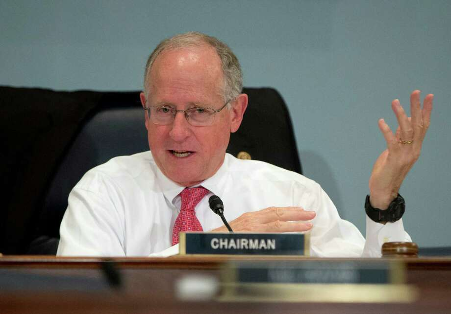 House Agriculture Committee Chairman Rep. Mike Conaway, R-Texas, speaks on Capitol Hill in Washington, Wednesday, Oct. 7, 2015, during the committee's hearing on the 2015 Dietary Guidelines for Americans where Agriculture Secretary Tom Vilsack and Health and Human Services Secretary Sylvia Mathews Burwell testified. (AP Photo/Carolyn Kaster) Photo: Carolyn Kaster, STF / AP