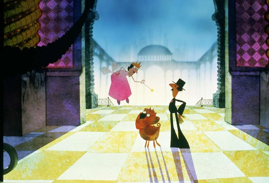"""The Fairy Godmother, left, Ralph the All-Purpose Animal, center, and Mumford, right, all hail from Frivoli, where sweet dreams come from in """"Twice Upon a Time."""" The 1983 feature, directed by John Korty and Charles Swenson, premieres on DVD on Tuesday, September 29.  Credit: Courtesy Warner Bros. Home Entertainment Photo: 1996-98 AccuSoft Inc., All Right, Courtesy Warner Bros. Home Enter"""