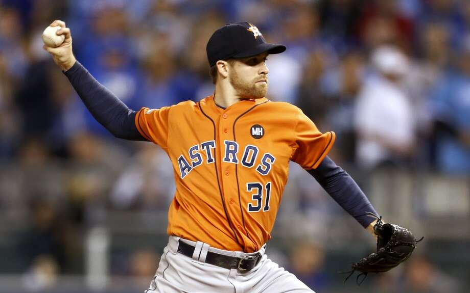 Collin McHugh will get the start for the Astros in Friday's series opener at Detroit. The Astros took two of three during the team's May series at Minute Maid Park. Photo: Karen Warren, Chronicle