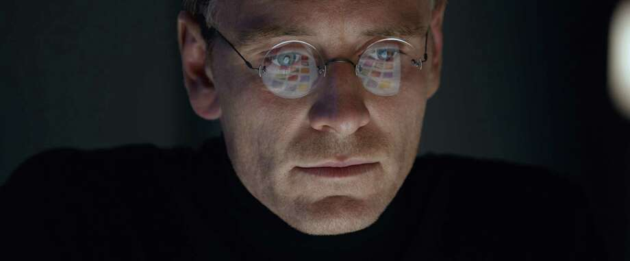 "In this image released by Universal Pictures, Michael Fassbender stars as Steve Jobs in a scene from the film, ""Steve Jobs."" The movie opens  in U.S. theaters on Friday, Oct. 9, 2015. (Universal Pictures via AP) Photo: Associated Press / Universal Pictures"