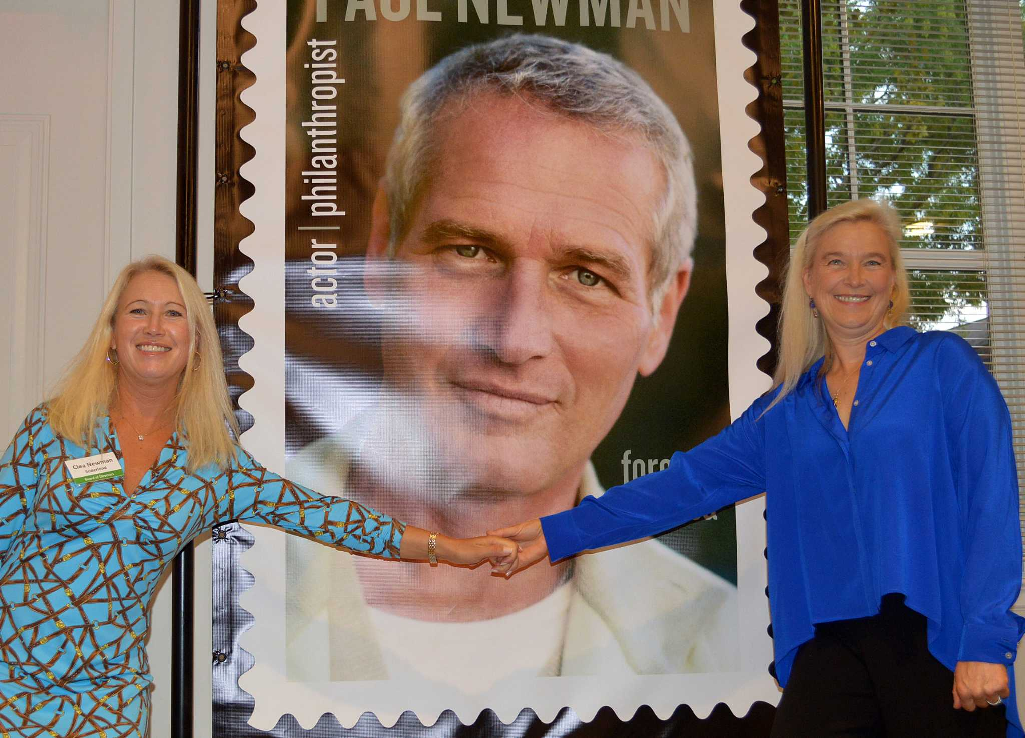 Westports Own Ceremony Marks Issue Of Paul Newman Commemorative Stamp