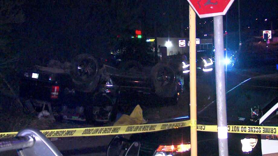 A man died Wednesday night following a rollover crash on the East Side, according to police. Photo: 21 Pro Video