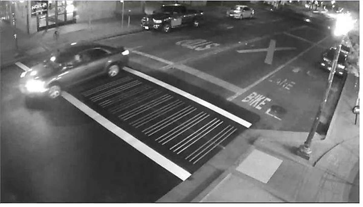 Police released new photos Wednesday of the car that they say was being driven by two men who stabbed Spencer Stone, who, along with two friends, is being credited with thwarting a terrorist attack on a train in Europe in August.