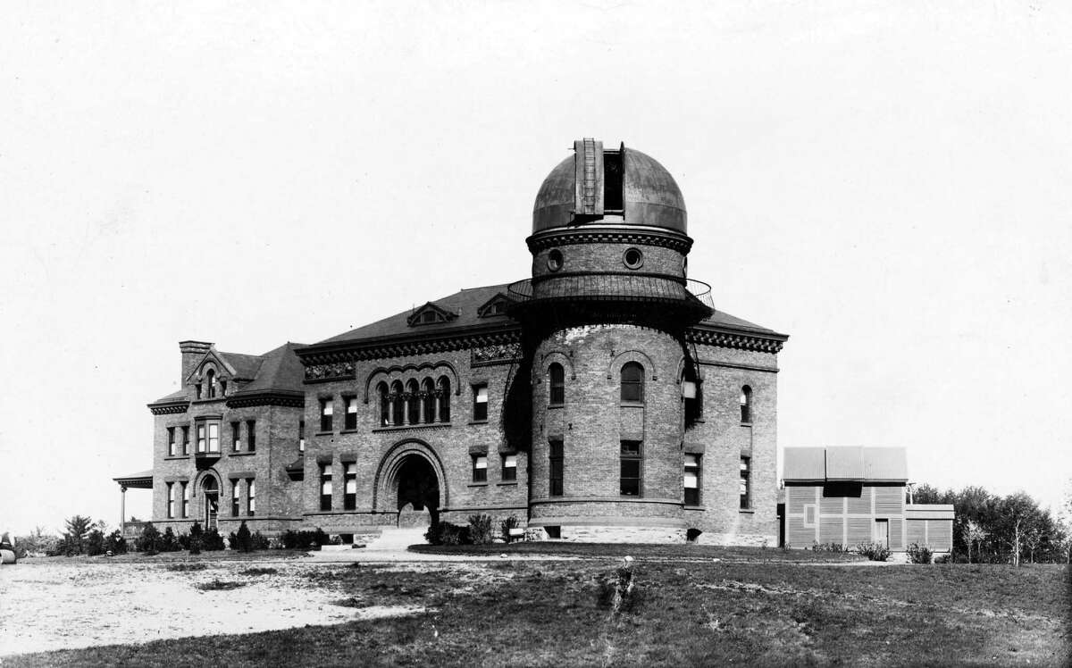 Dudley Observatory Sept. 19, 1936, located at 140 South Lake Ave., Albany, N.Y. The second observatory was dedicated in 1893 and remained in operation until 1965. (Times Union Archive)