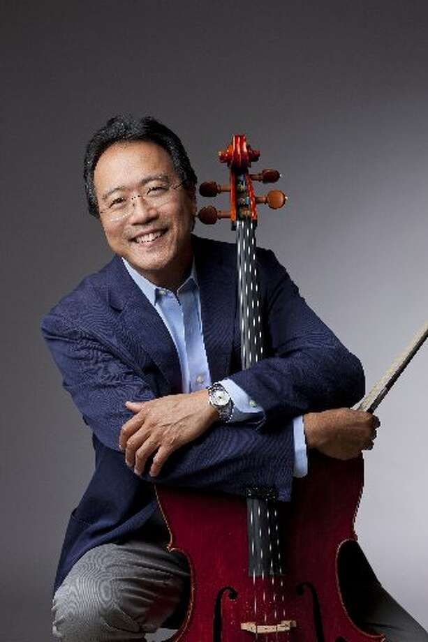 Cellist Yo-Yo Ma joins the list of recent appearances in S.A. by soprano Renée Fleming, pianist Lang Lang and violinists Joshua Bell and Itzhak Perlman